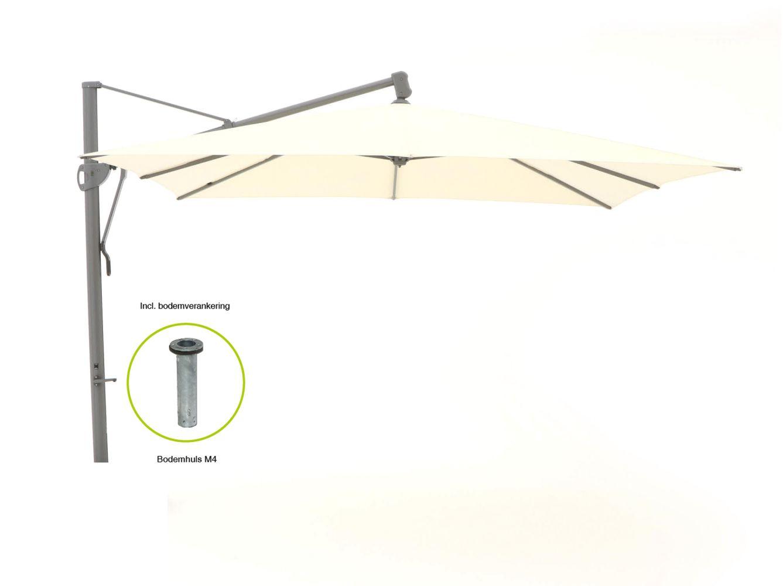 Glatz Sombrano Easy Ampelschirm 350x350 cm