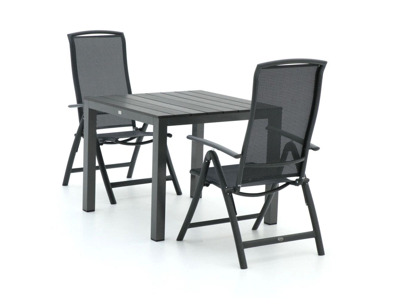 R&S Design Capri/Fidenza 90 cm Esstischgruppe 3-teilig verstellbar
