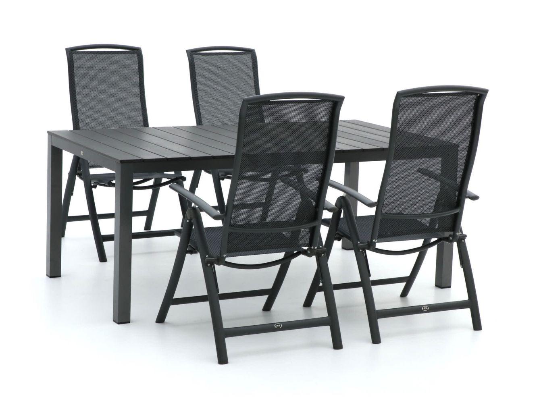 R&S Design Capri/Fidenza 180 cm Esstischgruppe 5-teilig verstellbar