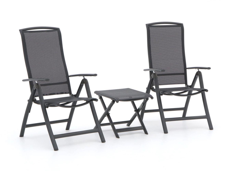 R&S Design Capri/Bova Balkon-Set 3-teilig verstellbar
