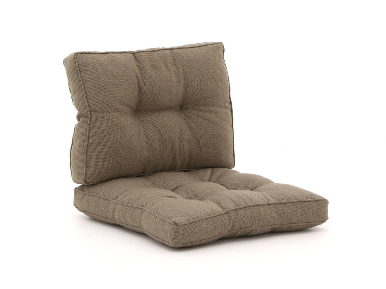 Madison Florance Loungekissen-Set Sitzkissen ca. 60x60 cm Rückenkissen ca. 60x40 cm
