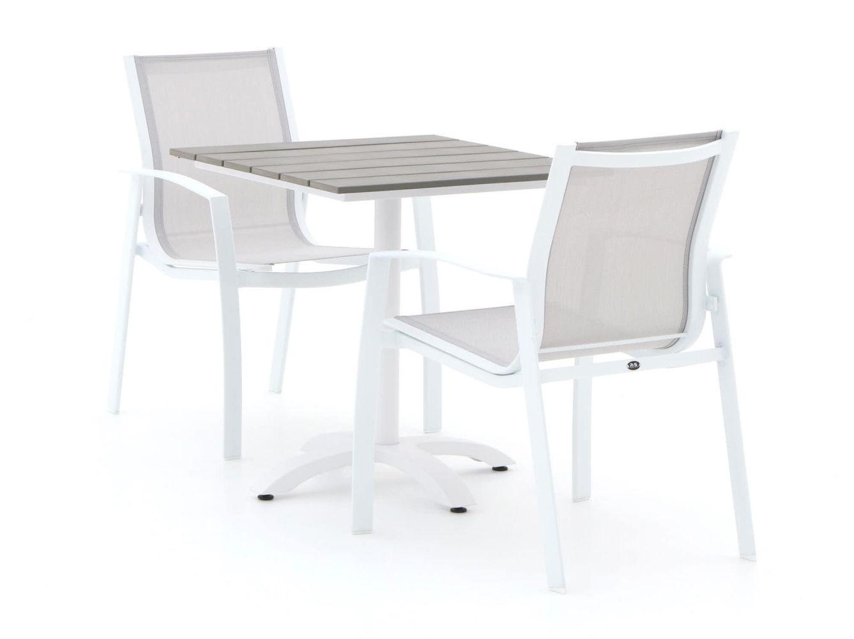 R&S Design Altea/Lisio 70 cm Esstischgruppe 3-teilig stapelbar
