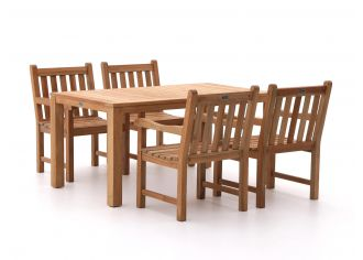 Sunyard Wales/Oxford 160cm dining tuinset 5-delig