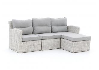Intenso Fellini Chaiselongue Lounge-Set 4-teilig