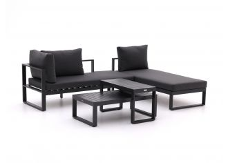 Forza Martone Chaiselongue Lounge-Set 4-teilig