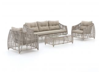 Manifesto Ortello Sessel-Sofa Lounge-Set 4-teilig