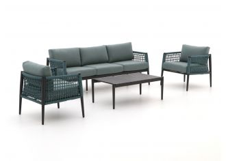Manifesto Salera Sessel-Sofa Lounge-Set 4-teilig